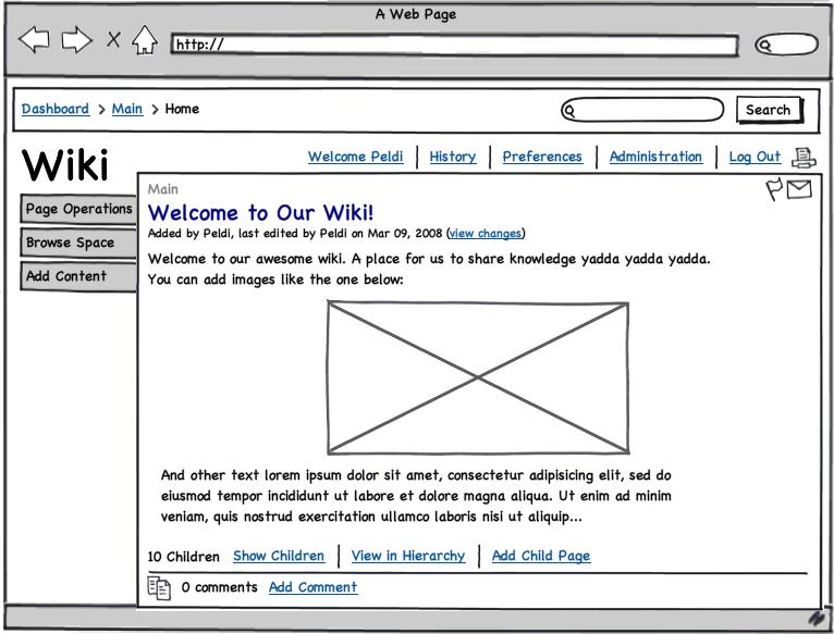 Balsamiq Wiki